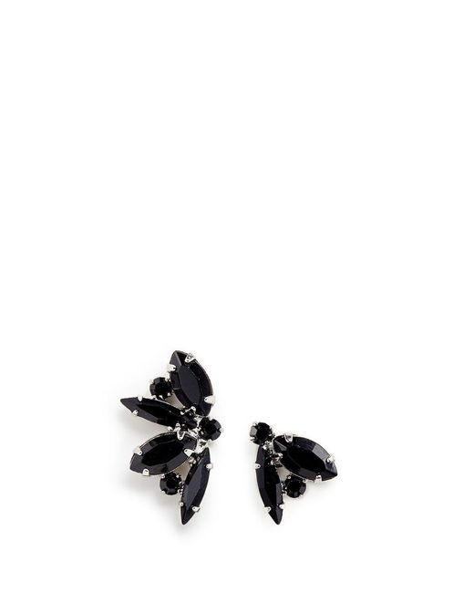 Joomi Lim | Black 'monochrome Chic' Swarovski Crystal Asymmetric Earrings | Lyst