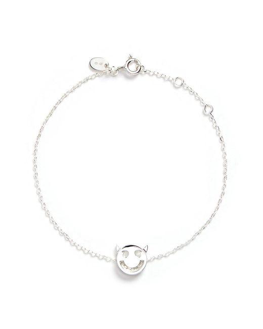 Ruifier | Metallic 'wicked' Sterling Silver Charm Chain Bracelet | Lyst