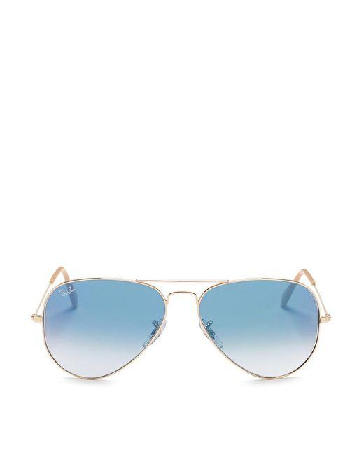 Ray-Ban | Metallic 'rb3449' Aviator Mirror Sunglasses for Men | Lyst