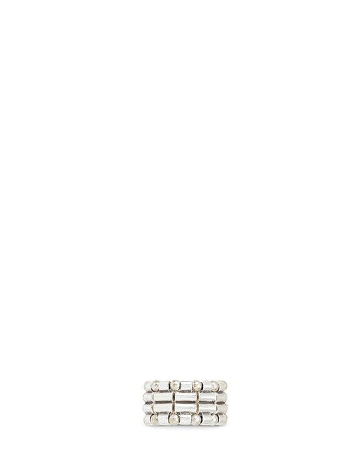 Philippe Audibert   Metallic Mixed Bead Elastic Ring   Lyst