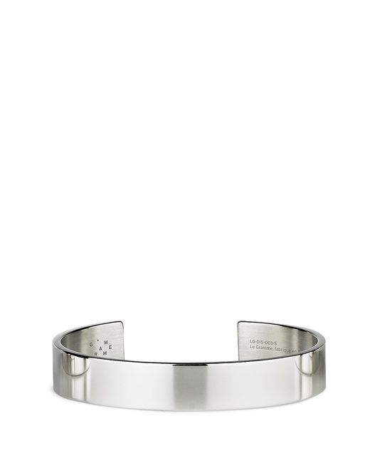 Le Gramme | Metallic 'le 33 Grammes' Polished Sterling Silver Cuff | Lyst