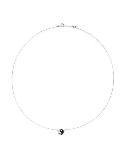 Bao Bao Wan - Black 'little Yin Yang' 18k Gold Diamond Necklace - Lyst
