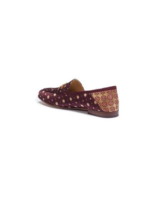 cd58ee07376e ... Sam Edelman - Multicolor  loraine  Horsebit Geometric Jacquard Step-in  Loafers ...