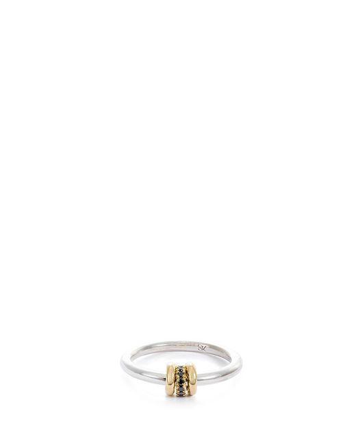 Spinelli Kilcollin | Metallic 'sirius Sg' Diamond 18k Yellow Gold Silver Ring | Lyst