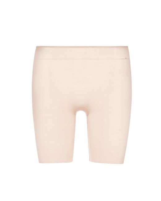 Spanx - Pink Skinny Britches® Mid-thigh Shorts - Lyst