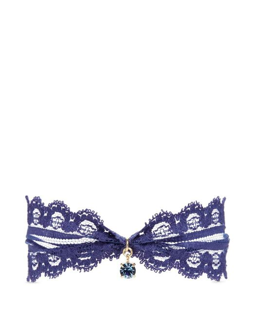 Joomi Lim | Blue 'comme Antoinette' Swarovski Crystal Lace Choker | Lyst
