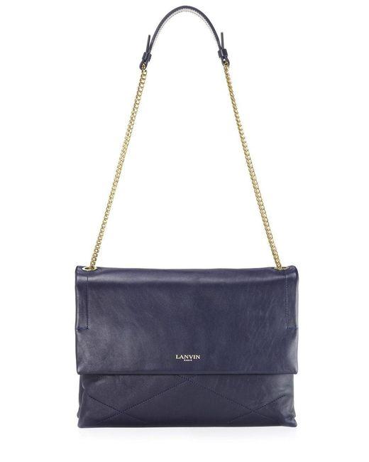 Lanvin - Purple Sugar Shoulder Bag - Lyst