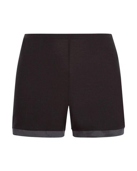 La Perla | Black Pyjama Shorts | Lyst