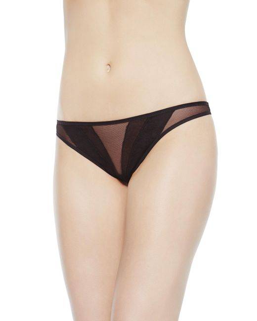 La Perla | Black Brazilian Briefs | Lyst