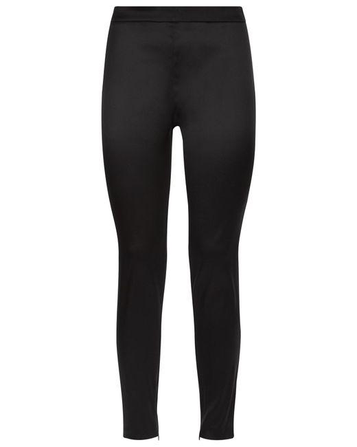 La Perla | Black Bi-stretch Silk Leggings | Lyst