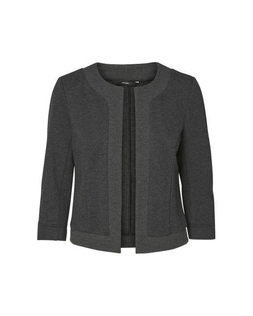 Vero Moda | Gray Straight Cut Jacket | Lyst