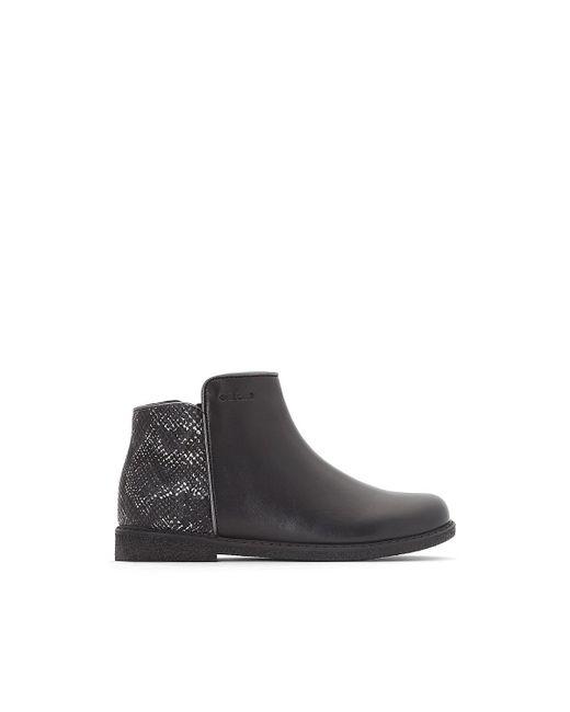 Lyst - Geox Boots Détail Irisé Shawntel in Black - Save 31% 82da97c399d6