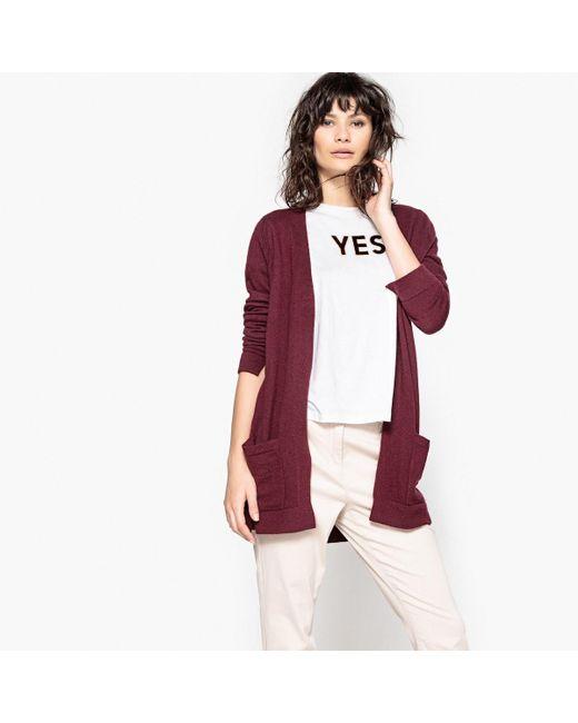 LA REDOUTE   Multicolor Long-sleeved Open Cardigan   Lyst
