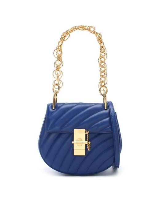 Blue Mini Drew Bijou Bag Chlo FIcFqIy