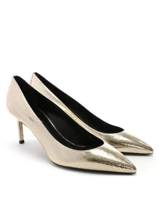 Saint Laurent Metallic Suede Pumps free shipping with credit card oBsJM