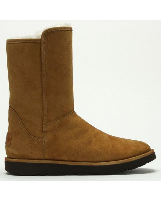 Ugg - Brown Ugg Australia Abree Short Ii Chestnut Suede Ankle Boot - Lyst