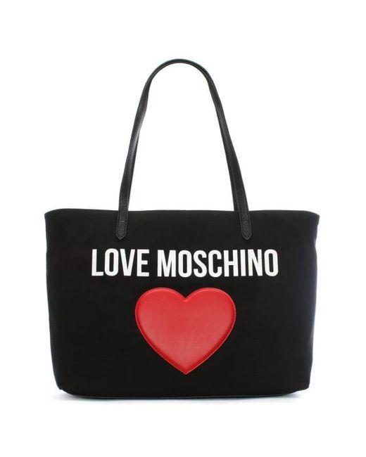logo tote bag - Black Moschino zR4Wodqbrz