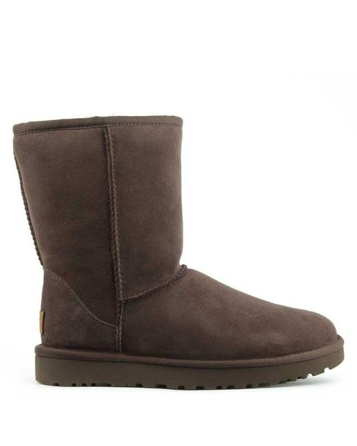 Ugg | Brown Ugg Australia Classic Short Ii Chocolate Twinface Boot | Lyst