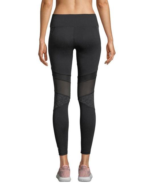 519835b7f81c ... Marika Tek - Black Jordan Space Dye High-waist Leggings - Lyst ...