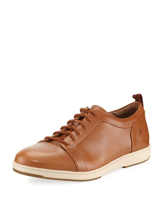 Tommy Bahama - Gray Men's Jerez Tiles Leather Sneakers for Men - Lyst