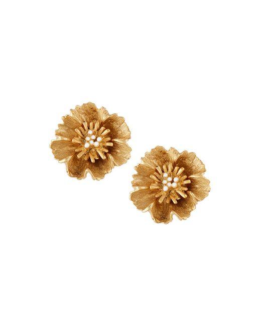 Stephanie Kantis - Metallic Floral Cluster Stud Earrings - Lyst