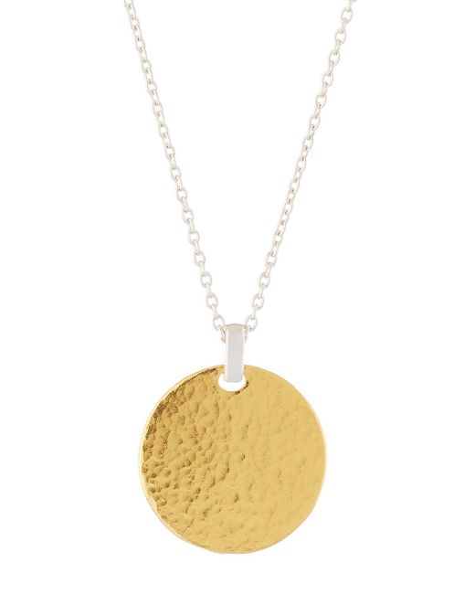 Gurhan - Multicolor 24k Vermeil Flake Pendant Necklace - Lyst