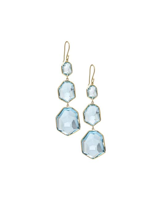 Ippolita | Blue 18k Modern Rock Candy Dangle & Drop Earrings | Lyst