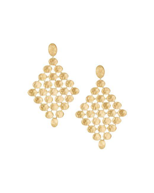 Marco Bicego | Metallic Siviglia 18k Gold Multicolor Sapphire Necklace | Lyst