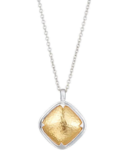 Gurhan - Metallic Malibu Cushion Pendant Necklace - Lyst