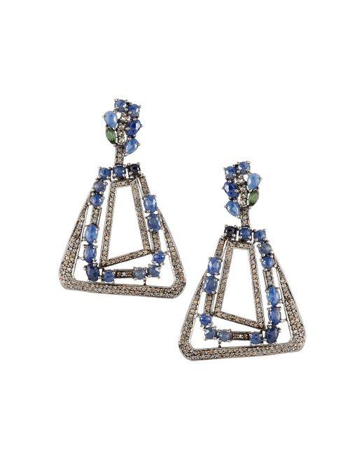 Bavna | Blue Champagne Diamond | Lyst