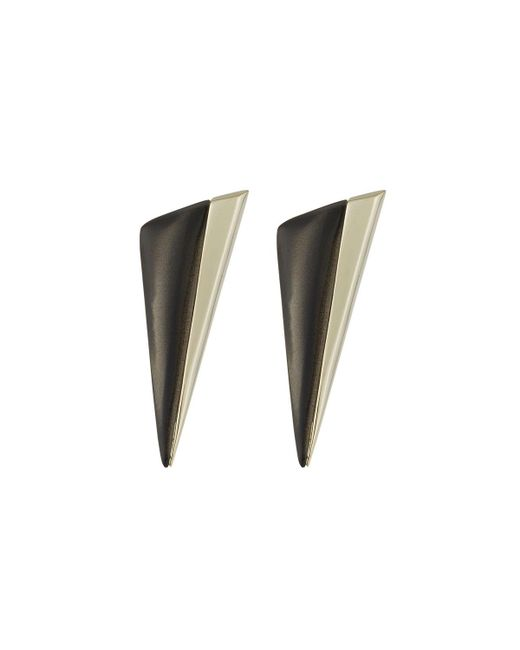 Alexis Bittar | Gray Angled Pyramid Stud Earrings | Lyst