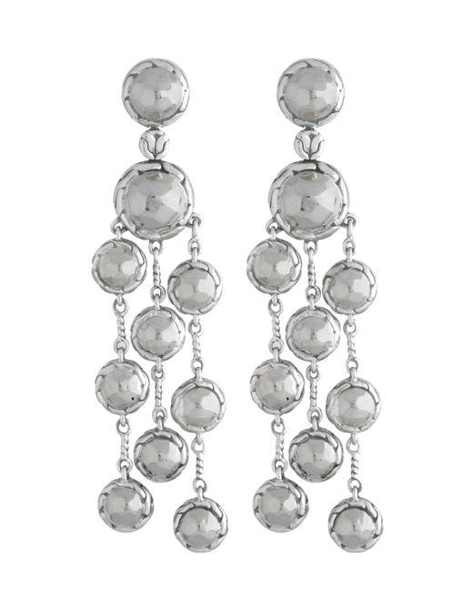 John hardy palu chandelier earrings lyst for John hardy jewelry earrings