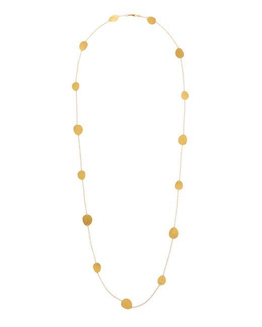 Gurhan - Metallic Contour 24k Gold All-around Disc-station Necklace - Lyst