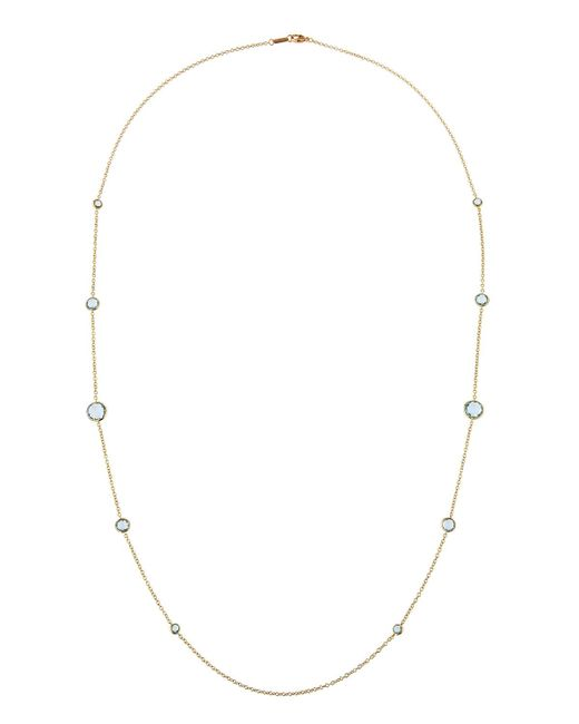 Ippolita - Blue 18k Lollipop® Station Necklace - Lyst