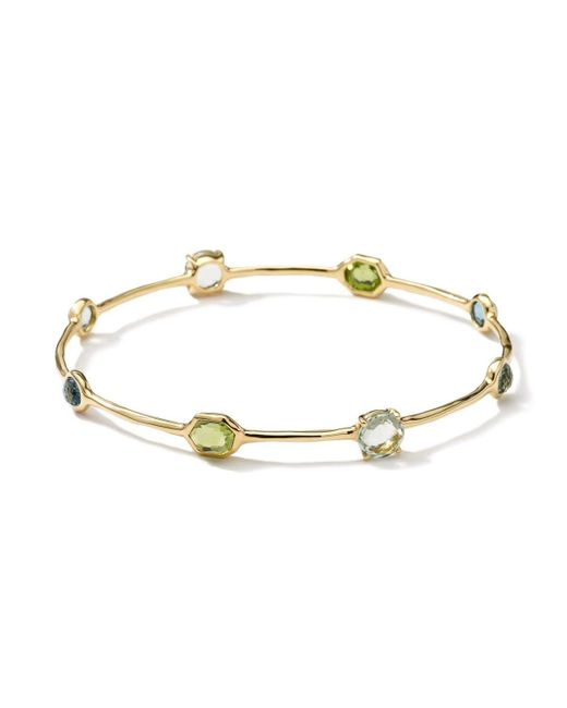Ippolita - Metallic 18k Gold Rock Candy® Eight-stone Bangle - Lyst