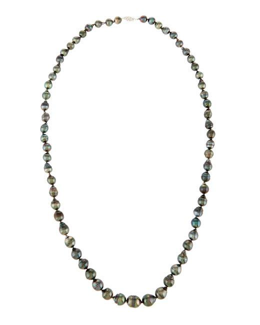 Belpearl | Long Black Tahitian Pearl Necklace | Lyst