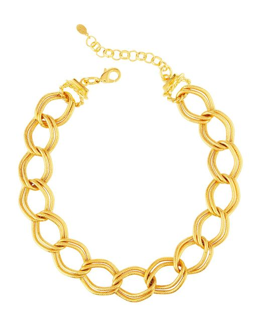 Jose & Maria Barrera | Metallic Chain-link Collar Necklace | Lyst
