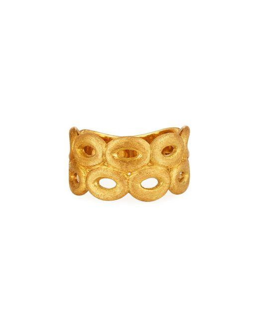 Marco Bicego | Metallic Siviglia 18k Two Row Link Ring | Lyst