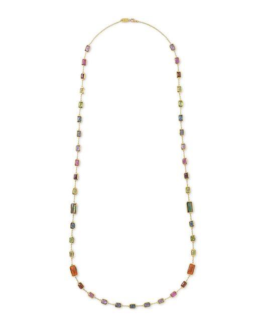 Ippolita | Metallic 18k Rock Candy Chain Necklace In Fall Rainbow | Lyst