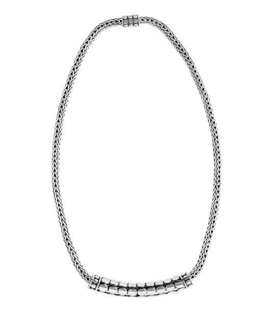 John Hardy | Metallic Dot Tube Enhancer Chain Necklace | Lyst