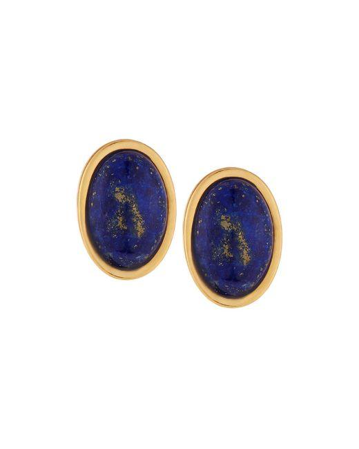 Stephanie Kantis - Blue Lapis Nugget Stone Earrings - Lyst