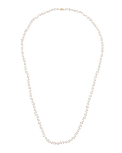 Belpearl - Metallic 14k Long Akoya Pearl Necklace - Lyst