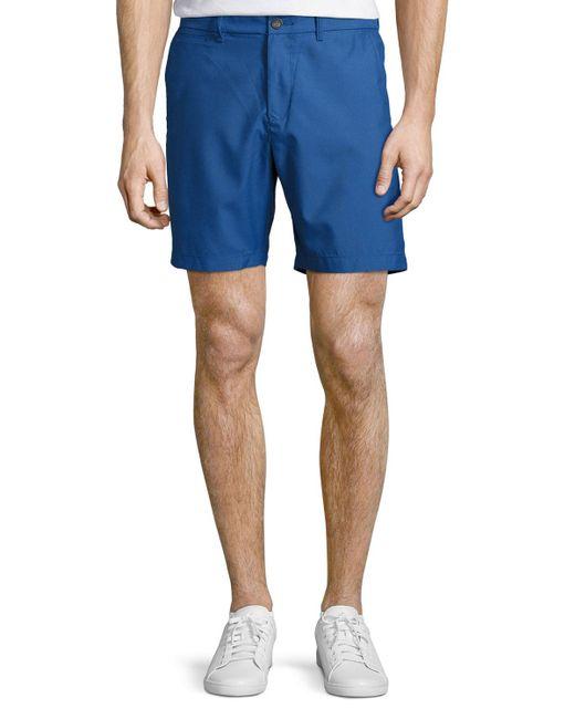 Original Penguin | Blue Packable Hydro Shorts for Men | Lyst