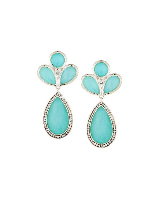 Ippolita - Blue Lollipop® Multi-stone Doublet Drop Earrings - Lyst