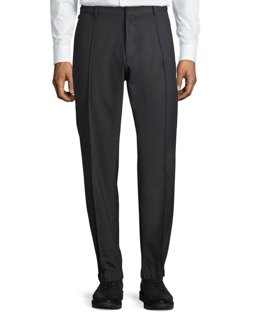 Armani | Gray Techno Stretch Jogger Trousers for Men | Lyst