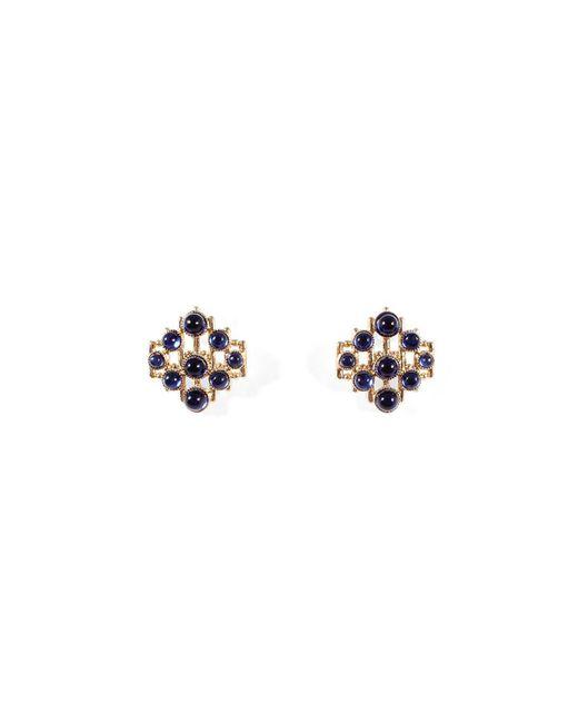 Lulu Frost - Metallic Midnight Energy Stud Earrings - Lyst