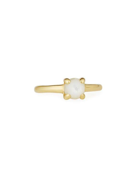 Ippolita | White Lollipop® 18k Teeny Mother-of-pearl Doublet Ring | Lyst