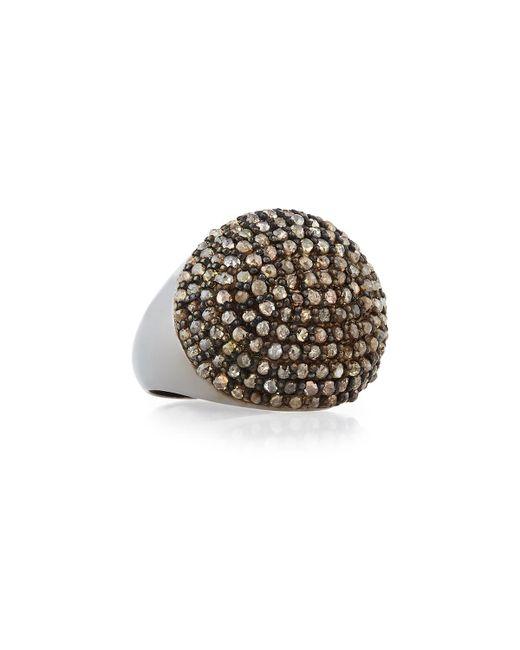 Bavna | Gray Champagne Diamond Cocktail Ring | Lyst