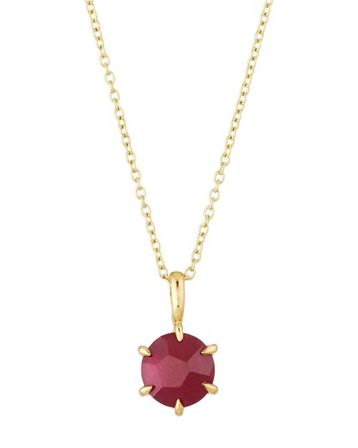 Ippolita   Red Rock Candy 18k Mini Composite Ruby Pendant Necklace   Lyst
