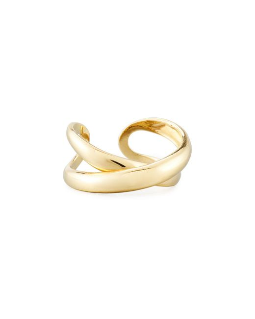 Roberto Coin | Metallic 18k Crossover X Ring | Lyst